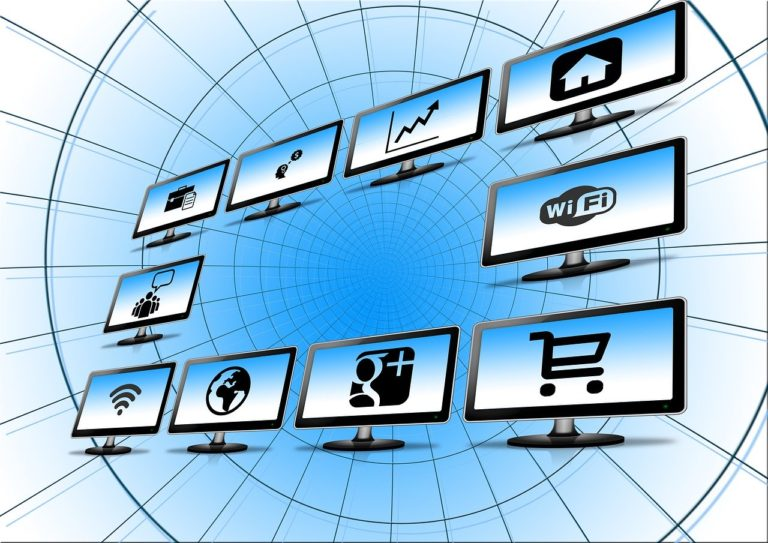 monitor, screen, social network